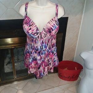 Torrid one peice swim suit sz 4